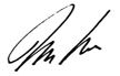 Mike Bedford Signature